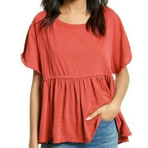 Free People Odyssey Tee size Large